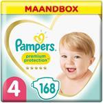 Pampers Premium Protection - Maat 4 - Maandbox - 168 luiers