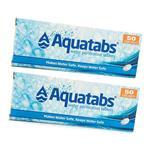 Aquatabs Waterzuiveringstabletten Twinpack (100 tabletten vo