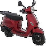 AGM VX50i (E5) (Rood metallic) bij Central Scooters kopen €1