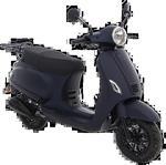 AGM VX50i (E5) (Mat donker blauw) bij Central Scooters kopen