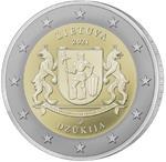 Litouwen 2 Euro 2021 Dzukija