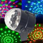 Crystal magic ball disco lamp rgb led discobol discolamp 180