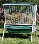 paarden hooiruif / voerruif / weideruif met dak