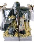 Wijngeschenk met bedrijfslogo en uw felicitatie!