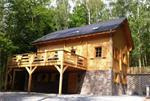 Zeer luxe chalet met sauna, bubbelbad voor 13 p