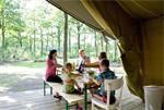 Safaritent huren op kleine campings in Frankrijk