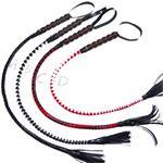 leather flower snake whip
