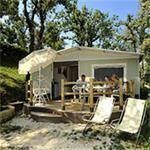 Luxe tent op kleine campings in Italië