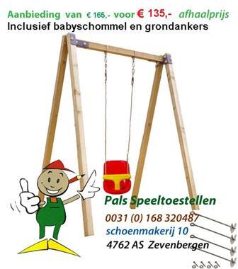 Grote foto schommel babyschommel speeltoestel schommels kinderen en baby los speelgoed