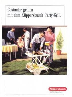 Grote foto partywagen k ppersbusch pd 30 wt nu 49 e. tuin en terras barbecues en vuurkorven