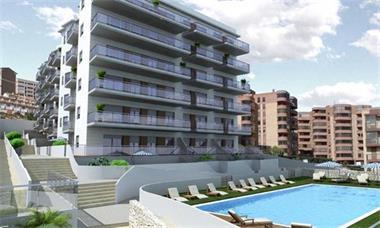 Grote foto moderne appartementen direct aan zee costa blanca vakantie spaanse kust