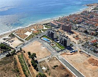 Grote foto appartementen aan het strand costa blanca zuid vakantie spaanse kust