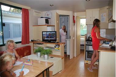 Grote foto stacaravan toscane itali bij zee 2 slaapkamers vakantie italie