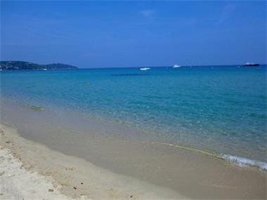 Grote foto mobilhomes in st tropez en frejus aan het strand vakantie strandvakanties