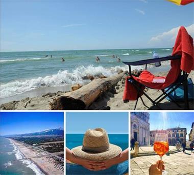 Grote foto stacaravans aan zee toscane italie viareggio caravans en kamperen stacaravans