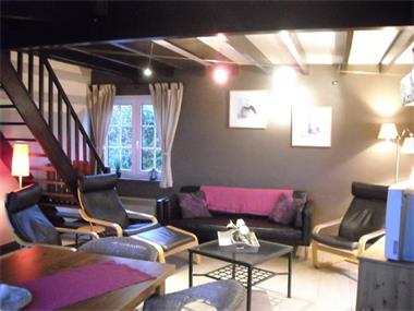 Grote foto sfeervol ruim familiehuis met tuin bij durbuy vakantie belgi
