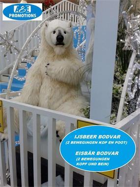 Grote foto ijsbeer rekwisieten verhuur utrecht 0599 416200 diversen kerst