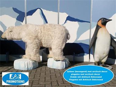Grote foto levensgrote ijsbeer huren noordholland 0599416200 diensten en vakmensen entertainment