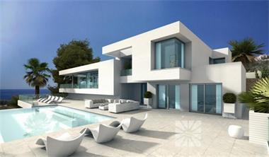 Luxe moderne zeezicht villa te koop costa blanca spaanse kust