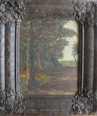 Grote foto schilderij gesigneerd leo hartman. antiek en kunst klassiek