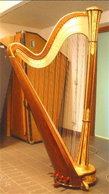 Grote foto te koop harp salvi minerva grand concert muziek en instrumenten harpen