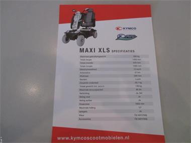 Grote foto kymco scootmobiel 4 wielig maxi xls diversen brommobielen en scootmobielen