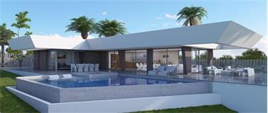 Grote foto mooie moderne villa met zeezicht javea vakantie spaanse kust