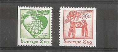 Grote foto zweden kerstzegels postzegels en munten scandinavi