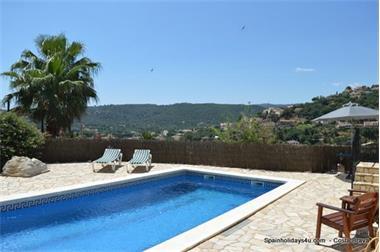 Grote foto villa de la selva 6 pers. priv zwembad wifi vakantie spaanse kust