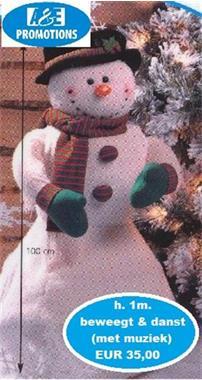 Grote foto kerstman ijstroon foto actie verhuur amsterdam diversen kerst