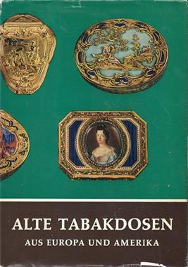 Grote foto alte tabakdosen aus europa und amerika verzamelen boeken en tijdschriften