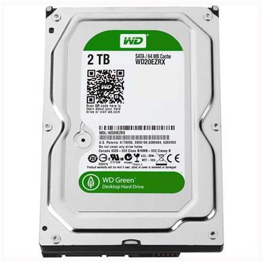 Grote foto 2.0tb wd green harde schijf met 3.5 inch sata computers en software harde schijven