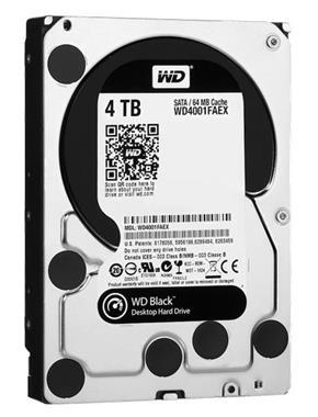 Grote foto 4.0tb wd black harde schijf met 3.5 inch sata computers en software harde schijven
