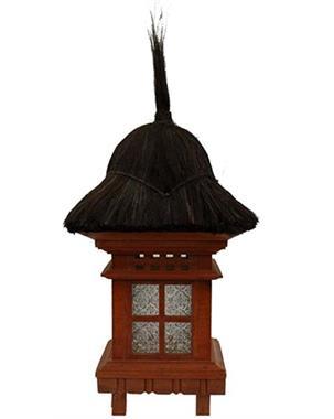 Grote foto oosterse tuinlampen bij de boeddhaspecialist tuin en terras staande lampen