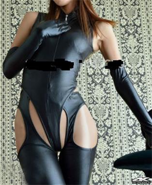 Grote foto sexy leather bodysuit erotiek lingerie latex