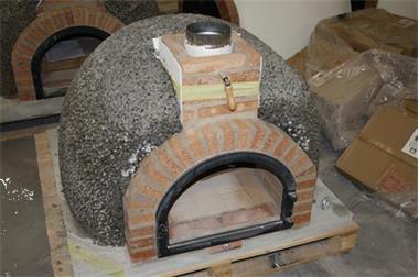 Grote foto pizzaoven steenoven traditional brick oven tuin en terras barbecues en vuurkorven
