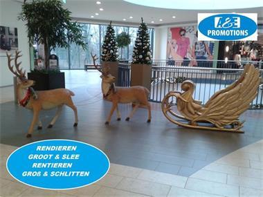 Grote foto eland props huren lapland rekwisieten 0599416200 diversen kerst
