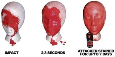 Grote foto pepperspray alternatief handig voor onderweg sport en fitness fietsen en wielrennen