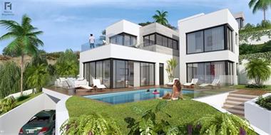 Grote foto moderne luxe villa s te koop costa del sol vakantie spaanse kust