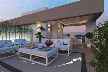 Nieuwe moderne stijl schakel woningen marbella spaanse kust - Moderne keuken stijl fotos ...