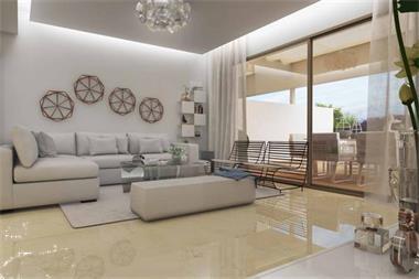 Grote foto nieuwe moderne stijl schakel woningen marbella vakantie spaanse kust