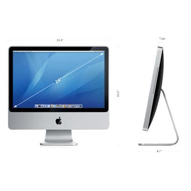 Grote foto imac aluminium 24 inch m2007 computers en software apple