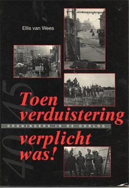 Grote foto toen verduistering verplicht was ellis van wees boeken oorlog en militair