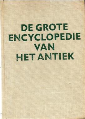 Grote foto de grote encyclopedie van het antiek boeken encyclopedie n