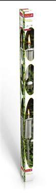 Grote foto rvs tuinfakkel 120 cm tuin en terras verlichting