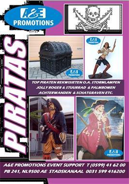 Grote foto piraten props verhuur noordholland 0599 41 62 00 diversen overige diversen