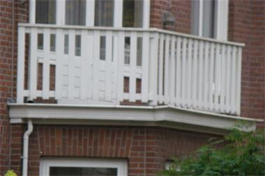Grote foto hardhouten balkon terras hekken op maat tuin en terras hekken en schuttingen