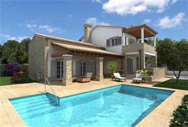 Grote foto altea moderne mediterraanse villa vakantie portugal