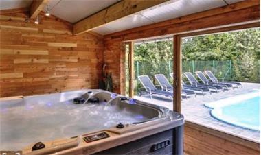 Grote foto vakantiehoeve 8p met zwembad sauna en jacuzzi vakantie belgi