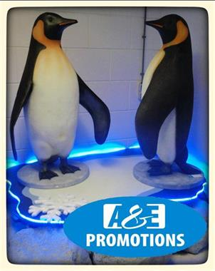Grote foto iglo verhuur pinguins winter rekwisieten antwerpen diversen kerst